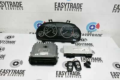 BMW 5 Series 520D F10 F11 2010-2014 Diesel N47D20C Engine ECU kit Speedo Keys