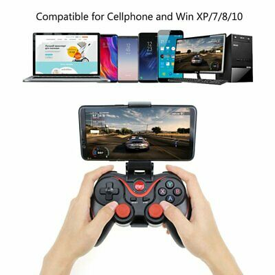Wireless Bluetooth Gamepad IOS Controller Remote Game PC For Android Phone