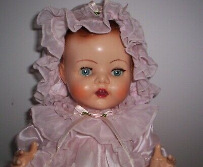VINTAGE PEDIGREE BABY DOLL VGC Made in England
