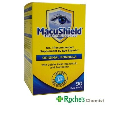 Macushield capsules x 90 for Age Related Macular Degeneration