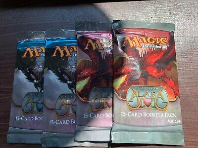 Shards of Alara - Lot of 4 English Booster Pack - Sealed - MTG Magic