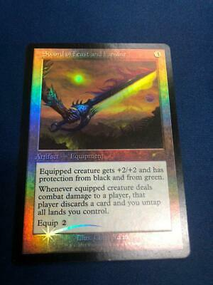 MTG Sword of Feast And Famine Judge Foil NM- x1