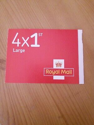 Royal Mail 4 x 1st class Large stamps self adhesive . Free postage