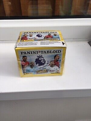 Panini Tabloid Premier League Special Edition Album Stickers (50 Packets In Box)