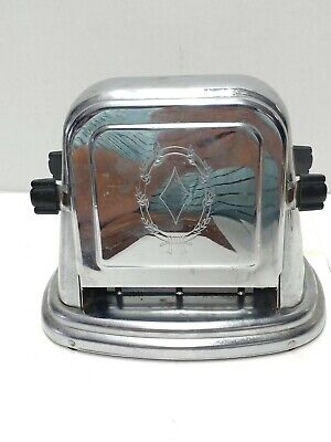 Antique Art Deco Bersted Electric Toaster By McGraw Electric Company Model # 71.