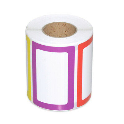1 Roll Name Stickers Self-adhesive Name Labels Barcode Paper for Cabinet Office
