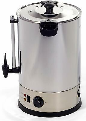 Igenix IG4015 Catering Urn, Hot Water Boiler, Tea Urn, 15 Litre, Stainless Steel