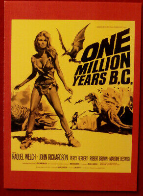 HAMMER HORROR - Series Two - Card 109 - One Million Years BC - Raquel Welch