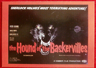 HAMMER HORROR - Series Two - Card 82 - Hound Of The Baskervilles - Cornerstone