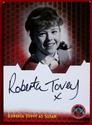 DOCTOR WHO AND THE DALEKS - ROBERTA TOVEY as Susan - Autograph Card - 2014