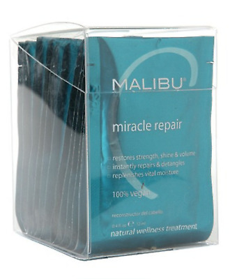 Malibu C -- Miracle Repair Hair Reconstructor Treatment, 12 pack