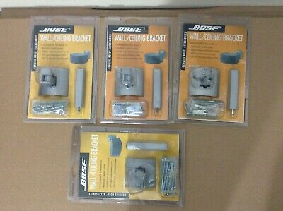 Bose 4x wall and ceiling brackets silver