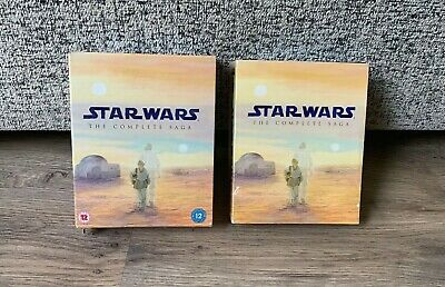 Star Wars The Complete Saga Blu-Ray Box Set- 9 Disc Set- Episodes 1-6