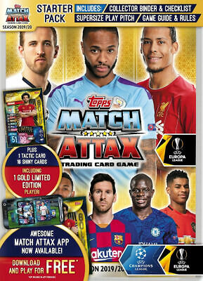 Topps Match Attax Champions Europa League 2019/20 - Complete Club Base Card Set