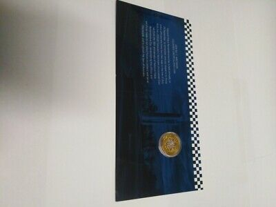 2019 $2 Australia Police Remembrance C Mintmark colour UNC $2 coin in RAM card
