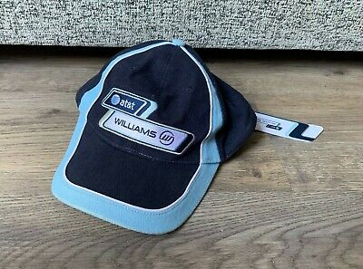 AT&T Williams Formula One Baseball Cap/ Hat- Racing- Good Condition- 100% Cotton
