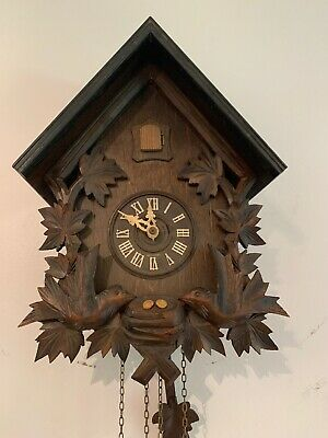 Cuckoo Clock  8 Day Germany Bachmaier &k lemmer