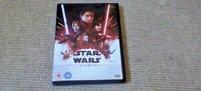 STAR WARS THE Last Jedi W/S UK DVD 2018 Mark Hamill Carrie Fisher Daisy Ridley