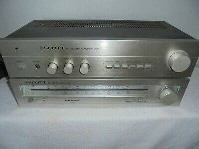 Vintage SCOTT 405A Integrated Amplifier and 515T AM/FM StereoTuner