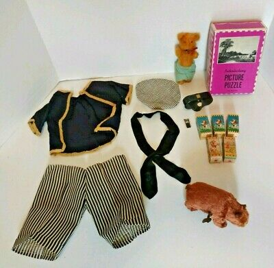 Antique Junk drawer Lot collectible Toys & miscellaneous wind up bear LoneRanger