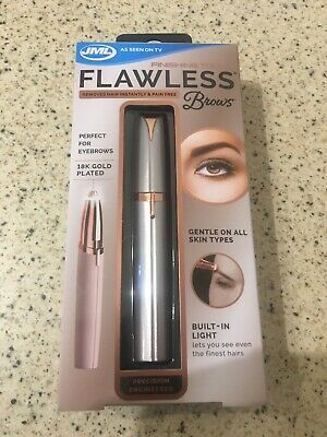 JML Finishing Touch Flawless Brows Eyebrow Shaper Hair Remover Pain Free. NEW!