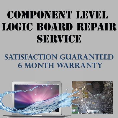 MacBook Air A1466 (2012-2017) Logic Board NO BACKLIGHT Repair Service