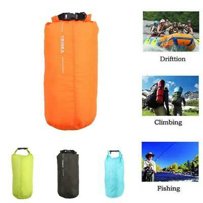 Ultralight Waterproof Dry Bag Stuff Sack Camping Drawstring Storage Pouch 8L #SY