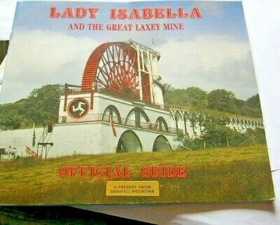 Isle Of Man Brochure Laxey Wheel Lady Isabella & The Great Laxey Mine     3