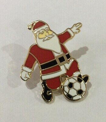 LIVERPOOL Badge Football Club FC Supporters Enamel Pin. SANTA FATHER CHRISTMAS