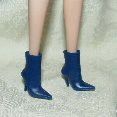 Barbie Blue High Heel Boots Styled By Marni Senofonte Shoes For Doll