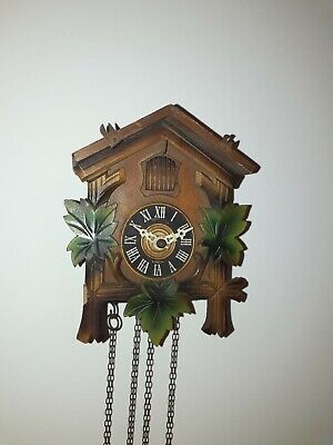 Vintage Forestall Cuckoo Clock Spares Or Repair