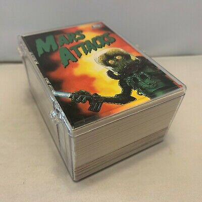 Mars Attacks 1994 Topps COMPLETE Trading Cards 100 #0 1-99