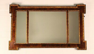 19th Century Walnut And Gilded Framed Mirror