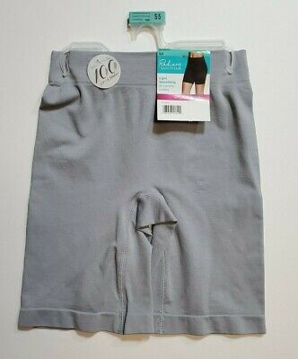 Women's Jockey Life Collection Cool Touch Slipshort Seamfree Light Gray S NWT