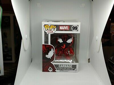 FUNKO POP CARNAGE #99 HOT TOPIC EXCLUSIVE Spider-man