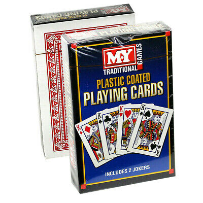 New M.y. Playing Cards Traditional Games Poker Games Plastic Coated & Sealed