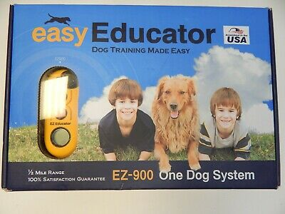 Easy Educator EZ-900 One Dog Training Collar System