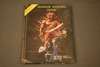 Advanced D&D Dungeon Masters Guide TSR Games Gygax 1979 Dungeons Dragons
