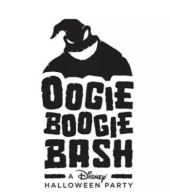 Oogie Boogie Bash  October 1st
