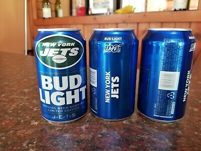 New York JETS 2019 Bud Light NFL kickoff can - Limited Edition