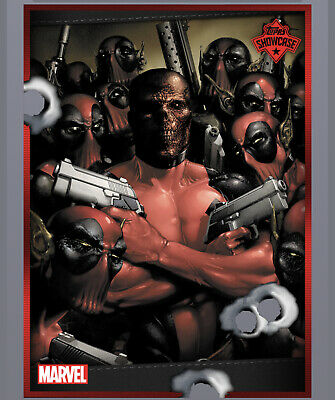 Topps Marvel Collect Showcase Deadpool Card