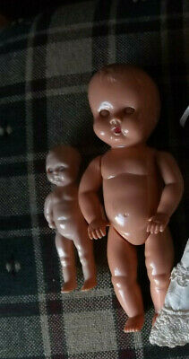HP Two Small Baby dolls- Tudor -Rose, England + Roddy.