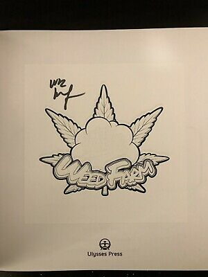 Wiz Khalifa SIGNED Weed Farm coloring book autograph auto comes with COA