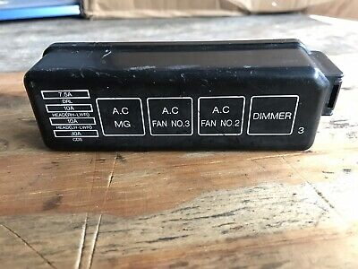 1998-2002 Toyota Corolla Engine Bay Fuse Relay Box Cover