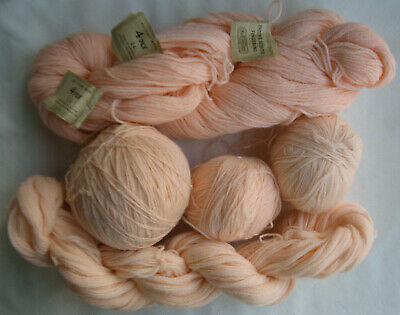 Knitting wool pure 2 & 4 ply 265g fingering Vintage