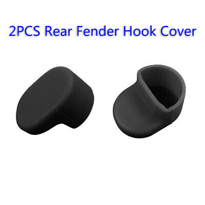 2Pcs For Xiaomi M365 Rear Fender Hook Silicone Cover Case Mudguard Hook Shield