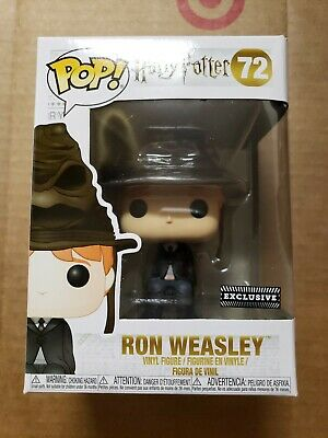 Funko pop Ron weasley sorting hat Harry Potter barnes & noble exclusive
