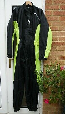 Richa Motorcycle Waterproof Suit Typhoon - Size Large - Folds away to a bum-bag