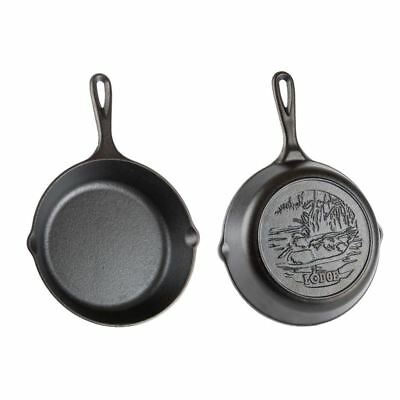 Lodge - Logic Cast Iron Skillet 20cm with Duck (Made in the U.S.A)