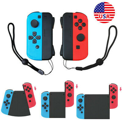 5IN1 For Nintendo Switch NS Joy-Con Wireless Controller Connector Adapter Grip